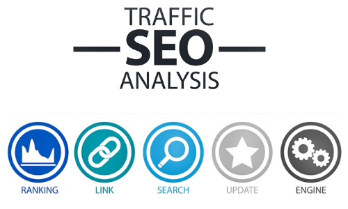 Traffic SEO Analysis by Ranking,Links,Search Results,Updates, Search Engines